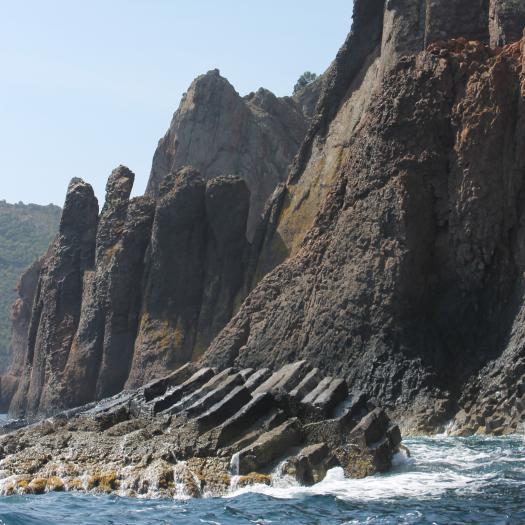 Orgues rhyolitiques de Scandola (Corse)
