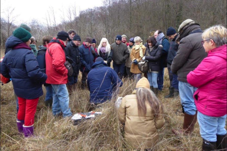 Sensibilisation aux fonctions et services des zones humides lors des journées mondiales zones humides dans la vallée des Beunes – Dordogne © C. Hoare