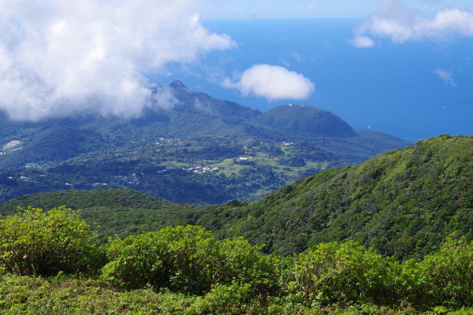 Guadeloupe, zone-coeur du parc national