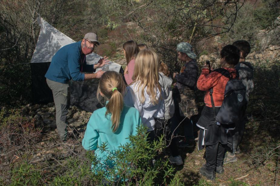 Présentation tente Malaise scolaires de Patrimonio - Jean Ichter