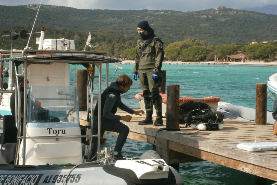 Plongée sous-marine en préparation - J. Utge