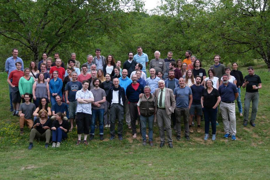 L'équipe PatriNat en Dordogne © B. Mussotte