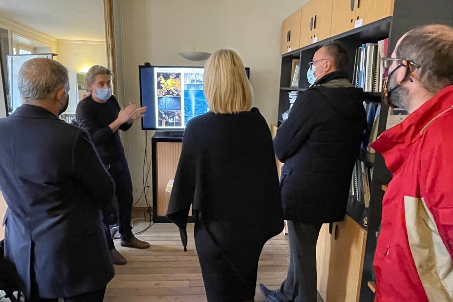 Visite B Abba à PatriNat - Connaissance écosystèmes - JB Cariou